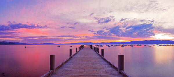 Photograph - Valhalla Pier Sunrise By Brad Scott by Brad Scott
