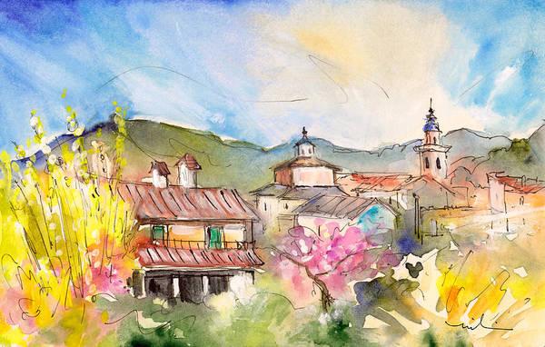 Painting - Valldemossa 01 by Miki De Goodaboom