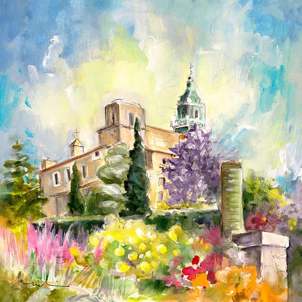 Painting - Valldemossa 03 by Miki De Goodaboom