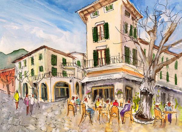 Painting - Valldemossa 05 by Miki De Goodaboom