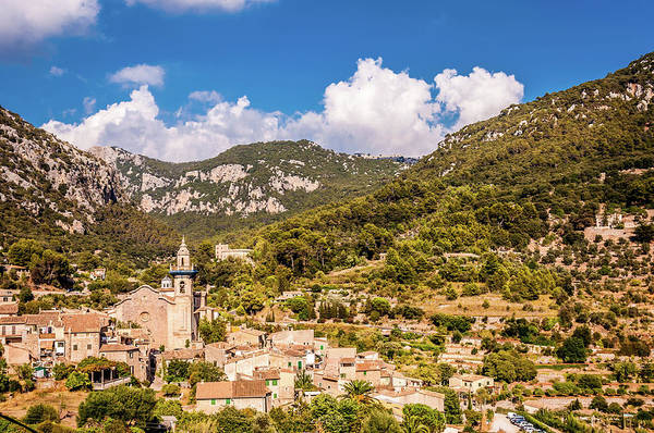 Aurore Photograph - Valldemossa View From The Town by Naylors Photography