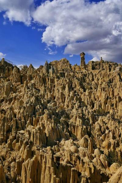 Photograph - Valle De La Luna 3 by Skip Hunt