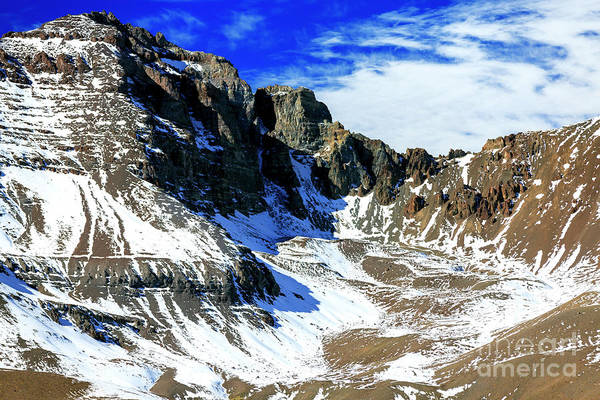 Photograph - Valle Nevado Andes Chile by John Rizzuto
