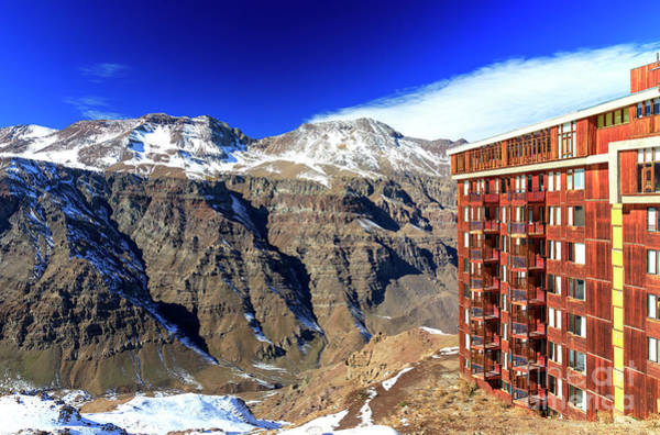 Photograph - Valle Nevado Colors In The Andes by John Rizzuto
