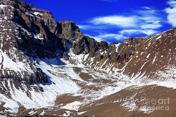 Photograph - Valle Nevado View In Chile by John Rizzuto
