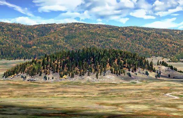 Photograph - Valles Caldera National Preserve by Anthony Dezenzio