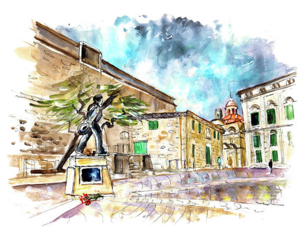 Painting - Valletta 02 by Miki De Goodaboom