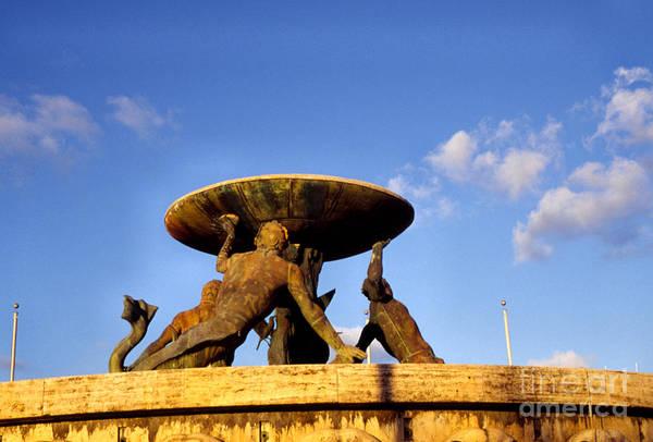 Photograph - Valletta Fountain by Thomas R Fletcher