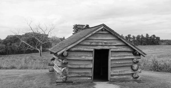 Photograph - Valley Forge - Home Sweet Hut by Richard Reeve