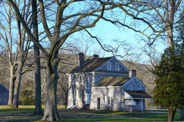 Wall Art - Photograph - Valley Forge Pa - Washingtons Headquarters by Bill Cannon