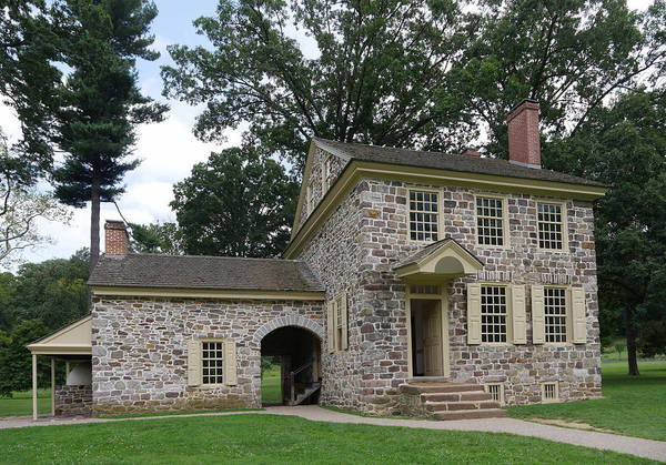 Photograph - Valley Forge - Washington Headquarters  by Richard Reeve