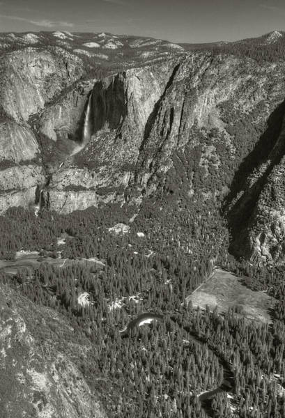 Photograph - Valley From Glacier Point by Michael Kirk