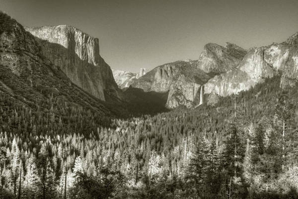 Photograph - Valley From Tunnel Overlook by Michael Kirk