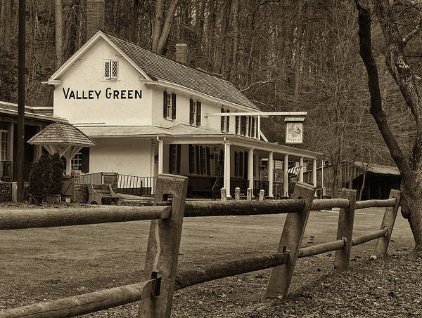 Inn Photograph - Valley Green by Jack Paolini