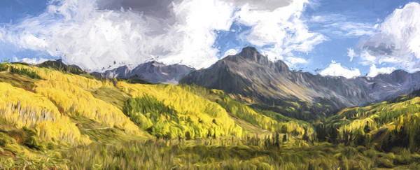 Digital Art - Valley Of Autumn II by Jon Glaser