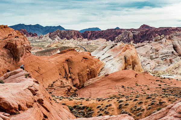 Photograph - Valley Of Fire  by Paul Johnson