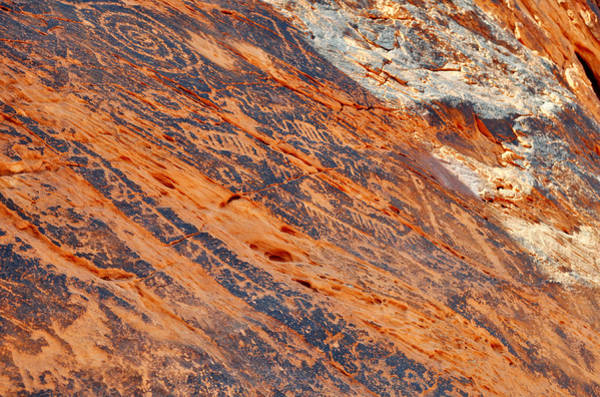 Photograph - Valley Of Fire Petroglyphs by Kyle Hanson