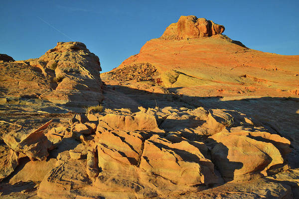 Photograph - Valley Of Fire Sunrise Glow by Ray Mathis