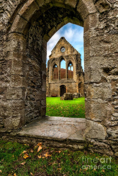 Abbey Photograph - Valley Of The Cross by Adrian Evans