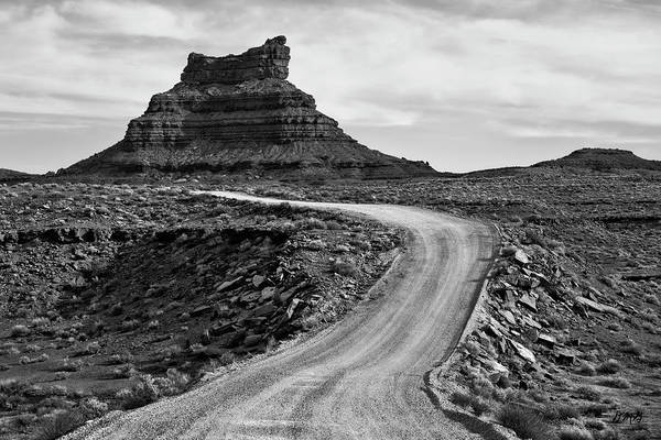 Photograph - Valley Of The Gods IIi Bw by David Gordon