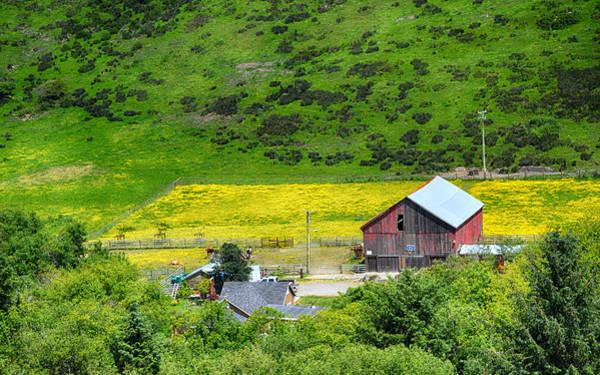 Photograph - Valley Ranch by AJ Schibig