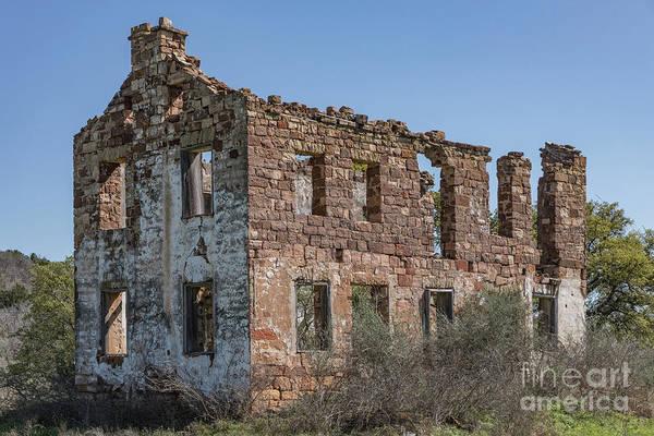 Photograph - Valley Spring Ruin - 2365 by Teresa Wilson