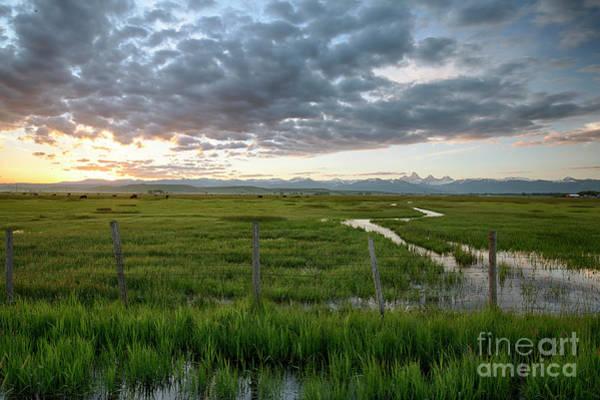 Wall Art - Photograph - Valley Sunrise by Idaho Scenic Images Linda Lantzy