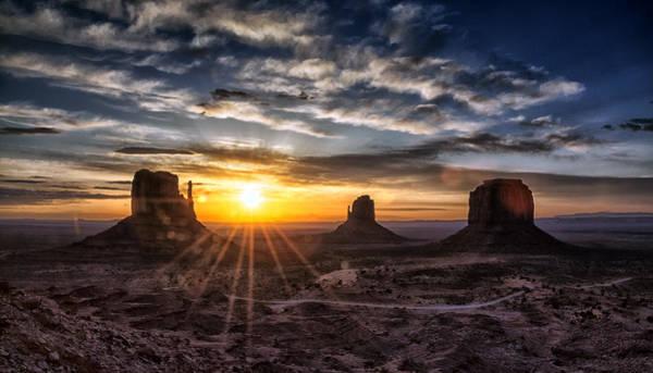 Wall Art - Photograph - Valley Sunrise by Robert Fawcett