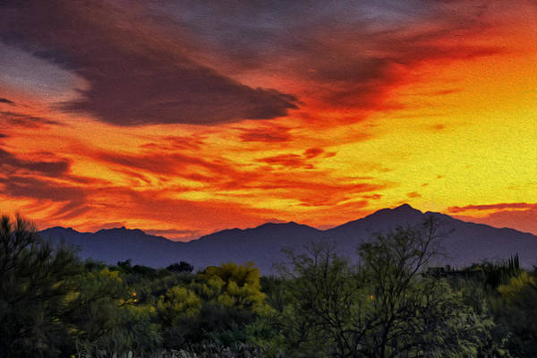 Photograph - Valley Sunset H33 by Mark Myhaver