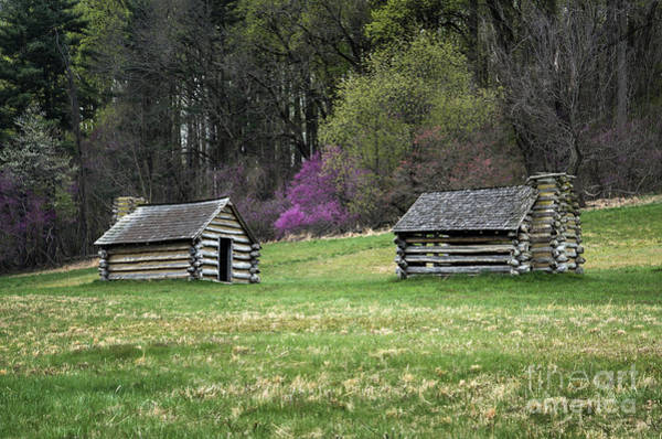 Continental Army Photograph - Vally Forge Park by John Greim