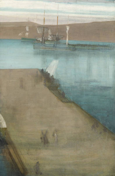 Painting - Valparaiso Harbor  by James Abbott McNeill Whistler