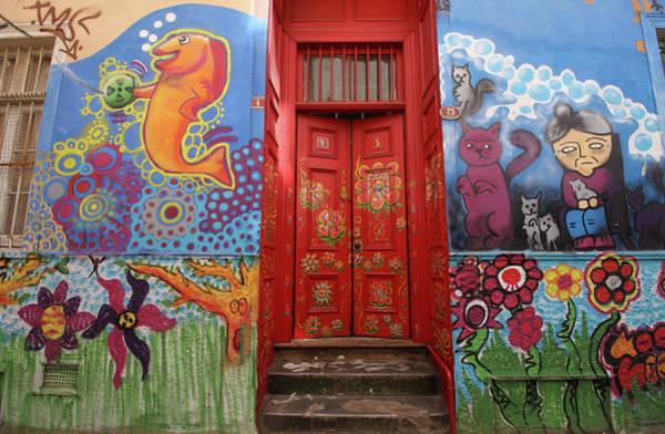 Photograph - Red Door  by Aidan Moran