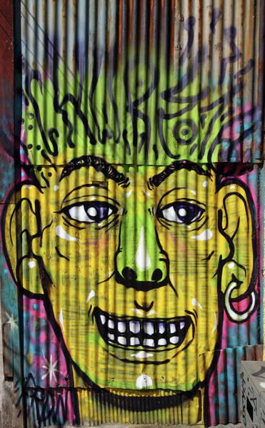 Photograph - Corrugated Iron Man by Aidan Moran