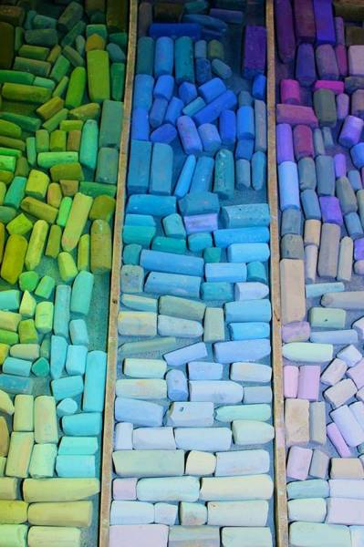 Photograph - Value Range In Pastel by Polly Castor