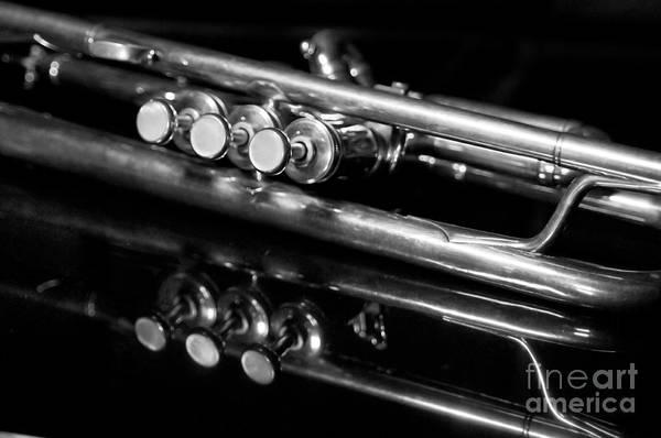 Trumpet Photograph - Valves by Dan Holm