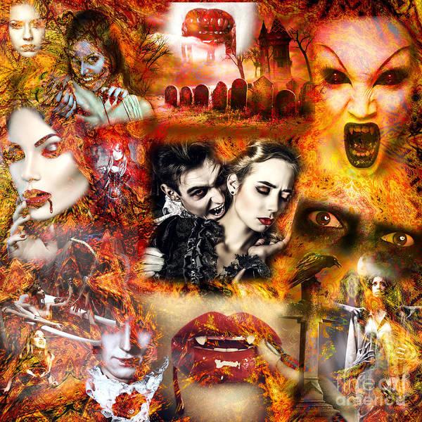 Photograph - Vampire Nightmare by John Rizzuto