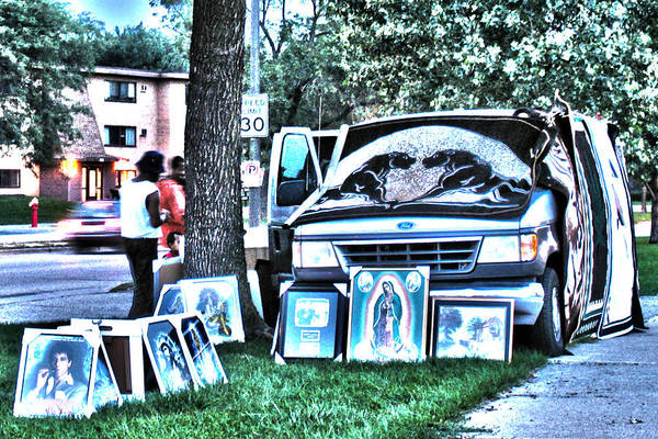 Photograph - Van Art by David Ralph Johnson
