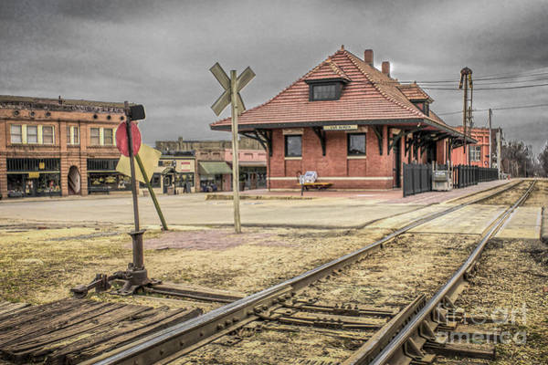 Wall Art - Photograph - Van Buren Ar Train Depot by Jim Raines