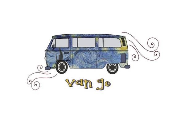 Digital Art - Van Go by Heather Applegate