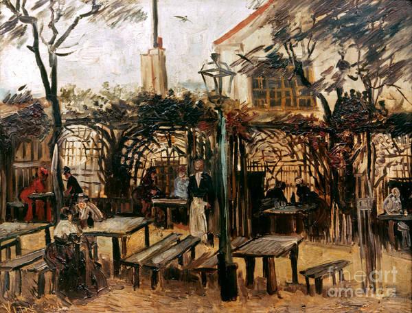 Photograph - Van Gogh: Guingette, 1886 by Granger