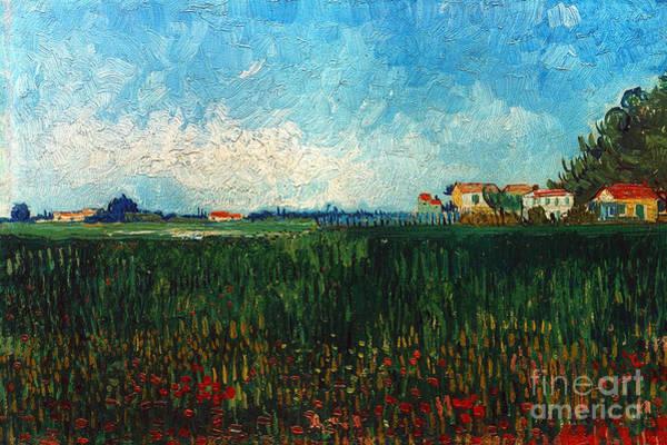 1888 Photograph - Van Gogh: Landscape, 1888 by Granger