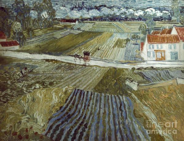 Photograph - Van Gogh: Landscape, C1888 by Granger