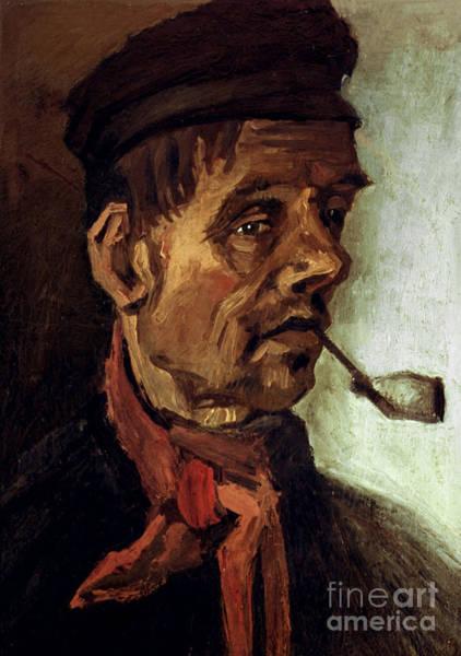 Wall Art - Photograph - Van Gogh: Peasant, 1884 by Granger