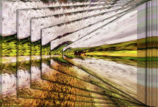Van Gogh Perspective Art Print