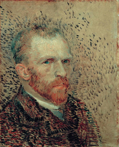 Wall Art - Painting - Van Gogh Self Portrait by Vincent Van Gogh
