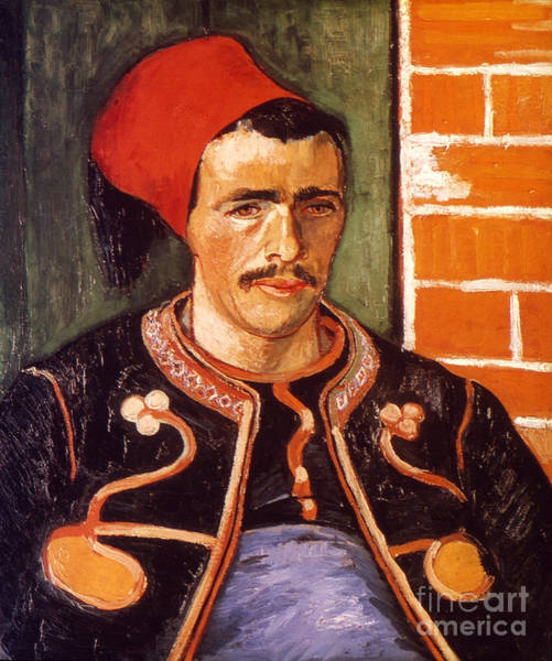 Photograph - Van Gogh: The Zouave, 1888 by Granger