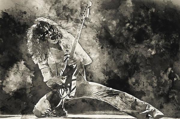 Van Halen - 09 Art Print