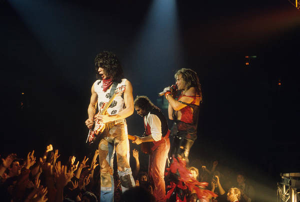 Photograph - Van Halen 1984 by Rich Fuscia
