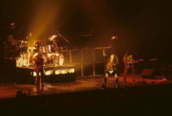 Photograph - Van Halen Opening For Black Sabbath by Rich Fuscia