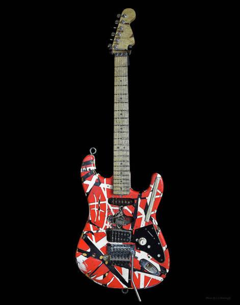 Photograph - Van Halen's Guitar by Coleman Mattingly